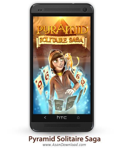 دانلود Pyramid Solitaire Saga v1.5.0 - بازی موبایل تخته و کارت