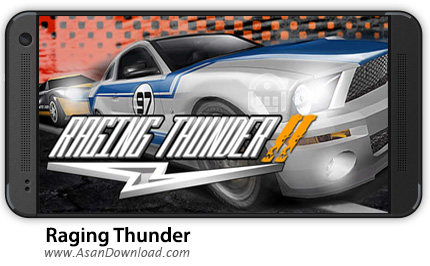 دانلود Raging Thunder 2 HD v1.0.17 - بازی موبایل رعد خشمگین 2 + نسخه بینهایت