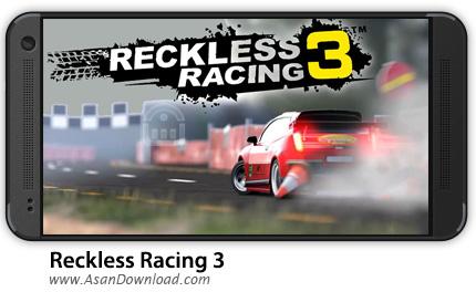 دانلود Reckless Racing 3 v1.1.8 - بازی موبایل مسابقات بی پروا 3 + دیتا + نسخه بینهایت