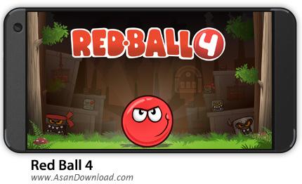 دانلود Red Ball 4 v1.2.36.GP - بازی موبایل توپ قرمز 4 + نسخه بی نهایت + دیتا
