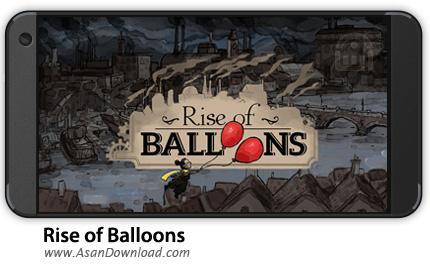 دانلود Rise of Balloons v1.0 - بای موبایل به دنبال بادکنک + نسخه بی نهایت + دیتا