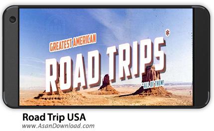 دانلود Road Trip USA - A Classic Hidden Object Game v1.0.25 - بازی موبایل سفر به آمریکا + دیتا
