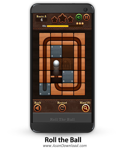 دانلود Roll the Ball: slide puzzle v1.6.1 - بازی موبایل حرکت توپ + نسخه بی نهایت