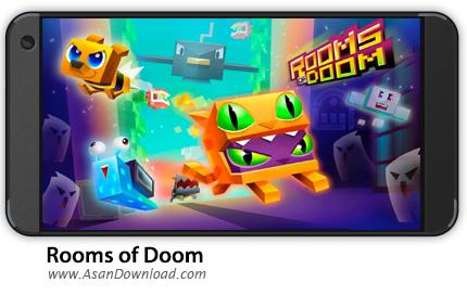 دانلود Rooms of Doom v1.1.2 - بازی موبایل اتاق های سرنوشت + نسخه بی نهایت