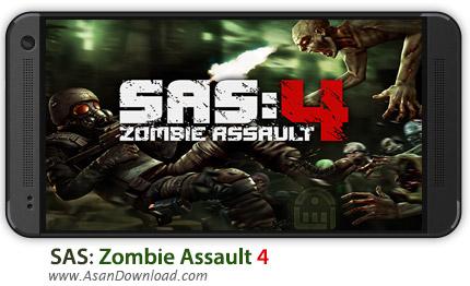 دانلود SAS: Zombie Assault 4 v1.3.1 - بازی موبایل حمله زامبی 4 + دیتا