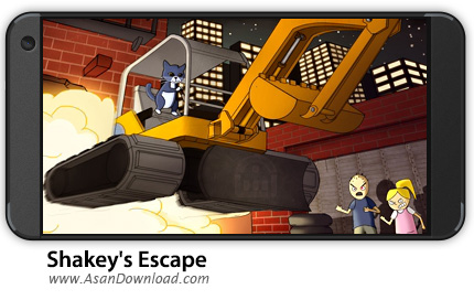 دانلود Shakey's Escape v1.4.0 - بازی موبایل فرار شاکی