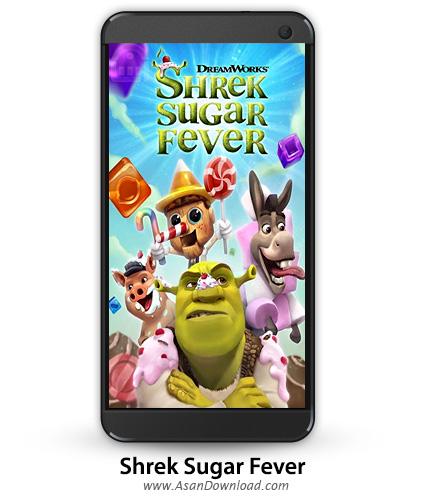 دانلود Shrek Sugar Fever v1.10.2 - بازی موبایل شرک و شیرینی ها + نسخه بی نهایت