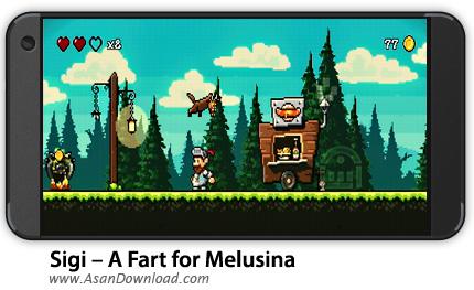 دانلود Sigi - A Fart for Melusina v1.9.8 - بازی موبایل نجات ملوسینا + نسخه بی نهایت