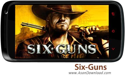 دانلود Six-Guns: Gang Showdown v2.8.0i - بازی موبایل 6 اسلحه + دیتا