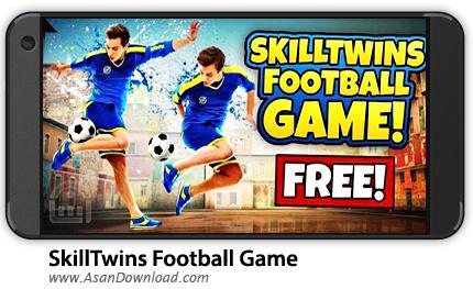 دانلود SkillTwins Football Game v1.3 - بازی موبایل فوتبال دوقلوها + نسخه بی نهایت