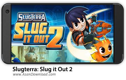 دانلود Slugterra: Slug it Out 2 v1.1.1 - بازی موبایل پازل اسلاگ ها + نسخه بی نهایت