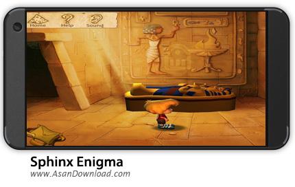 دانلود Sphinx Enigma v3.14 - بازی موبایل مجسمه ابوالهول + دیتا