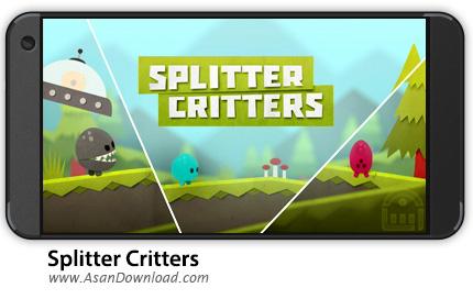 دانلود Splitter Critters v1.1.4.2 - بازی موبایل سفر فضایی