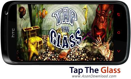 دانلود Tap The Glass v1.0.3 - بازی موبایل شیر شیشه ای