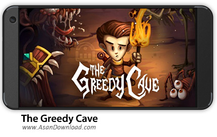 دانلود The Greedy Cave v1.5.1 - بازی موبایل غار حریص