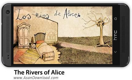 دانلود The Rivers of Alice v1.50 - بازی موبایل آلیس در سرزمین رودخانه ها + دیتا