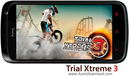دانلود Trial Xtreme 3 v7.1 - بازی موبایل موتورسواری تریل 3 + دیتا