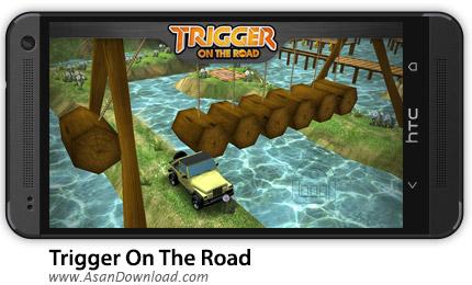 دانلود Trigger On The Road v1.0.4 - بازی موبایل ماشین سواری + نسخه بینهایت