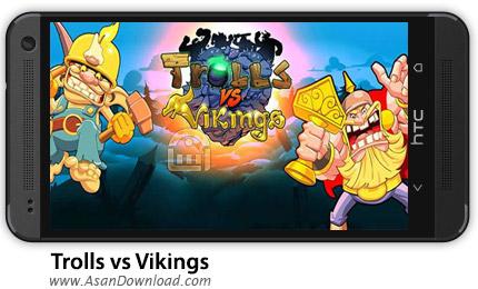 دانلود Trolls vs Vikings v2.6.51 - بازی ترول ها و وایکینگ ها + دیتا