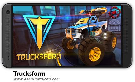 دانلود Trucksform v2.1 - بازی موبایل هدایت کامیون های مسابقه ای + دیتا + نسخه بینهایت