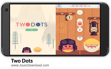 دانلود Two Dots v2.10.1 - بازی موبایل پازل دو نقطه + نسخه بی نهایت