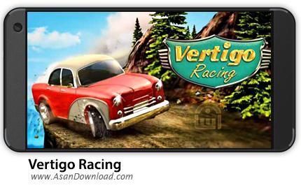 دانلود Vertigo Racing v1.0.4 - بازی موبایل ماشین سواری دیوانه + نسخه بی نهایت