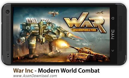 دانلود War Inc - Modern World Combat v1.056 - بازی موبایل مدیریت جنگ های مدرن