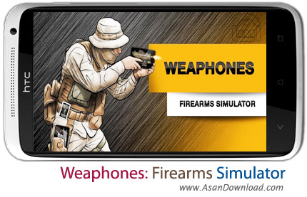 دانلود Weaphones: Firearms Simulator v2.0.1 - شبیه ساز اسلحه