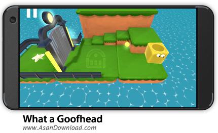 دانلود What a Goofhead v1.03 - بازی موبایل مکعب تو خالی