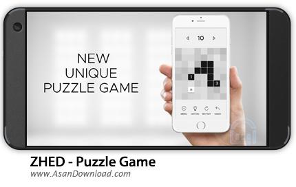 دانلود ZHED - Puzzle Game v1.09 - بازی موبایل پازل اعداد + نسخه بی نهایت