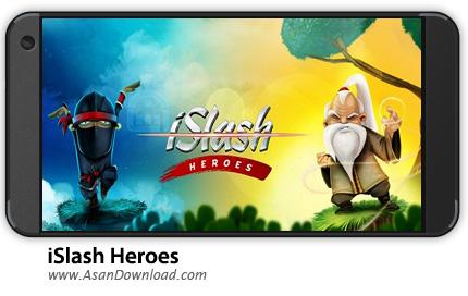 دانلود iSlash Heroes v1.3.5 - بازی موبایل برش نینجا + نسخه بی نهایت