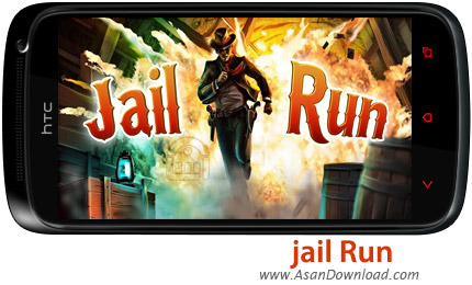دانلود jail run v2.1 - بازی موبایل فرار از زندان