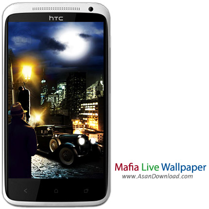 دانلود Mafia Live Wallpaper v1.0 - لایو والپیپر مافیا