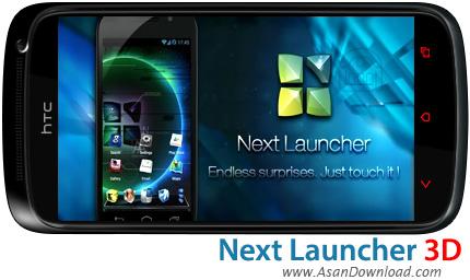 دانلود Next Launcher 3D v3.16 - لانچر سه بعدی برای موبایل های اندروید
