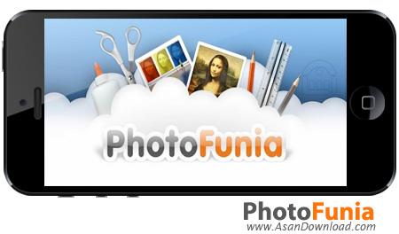 دانلود PhotoFunia v3.8.1 apk + v2.3 ipa - نرم افزار موبایل تلفیق تصاویر