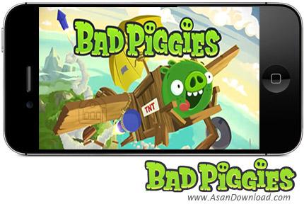 دانلود Bad Piggies - بازی موبایل خوک های بد