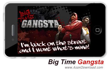 دانلود Big Time Gangsta v2.2.1 ipa + v2.1.0 apk - بازی موبایل زمان بزرگ گانگستر