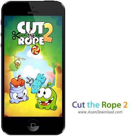دانلود Cut the Rope 2 v1.1.7 apk + v1.1 ipa - بازی موبایل طناب را ببر + نسخه بینهایت