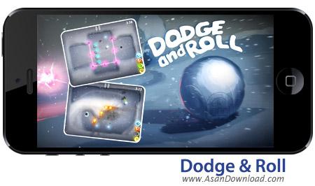 دانلود Dodge & Roll - بازی موبایل هدایت گلوله برفی