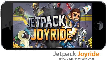 دانلود Jetpack Joyride v1.7.1 apk + v1.3.5 ipa - بازی موبایل لذت پرواز در جت سواری