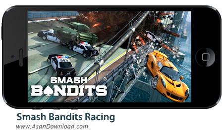 دانلود Smash Bandits Racing v1.08.08 apk + v1.04.19 ipa - بازی موبایل مسابقه راهزنان + دیتا