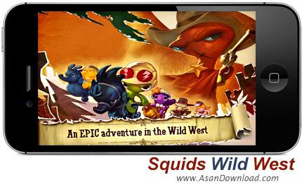 دانلود Squids Wild West  - بازی موبایل نبرد ماهی های غرب وحشی