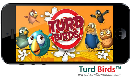 دانلود ™Turd Birds - بازی موبایل پرندگان بی ادب
