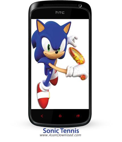 دانلود Sonic Tennis - بازی موبایل تنیس