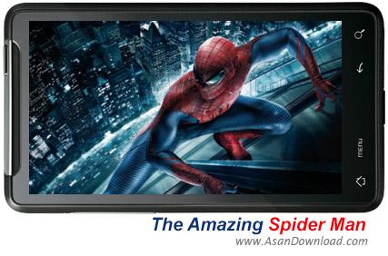 دانلود The Amazing Spider Man - بازی موبایل مرد عنکبوتی