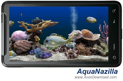 دانلود AquaNazilla v1.0 - نرم افزار نمایش آکواریم ماهی های رنگارنگ