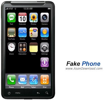 دانلود Fake Phone v1.0 - نرم افزار موبایل شبیه سازی گوشی های آیفون