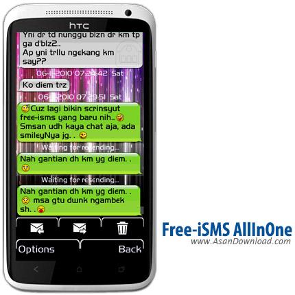 دانلود  Free-iSMS AllInOne v1.11 Beta2 - نرم افزار موبایل تبدیل اس ام اس ها به حالت گفتاری