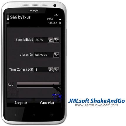 دانلود JMLsoft ShakeAndGo v1.02 - نرم افزار اجرای برنامه ها تنها با حرکت دادن گوشی