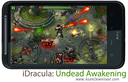 دانلود iDracula: Undead Awakening - بازی موبایل نبرد با خون آشام ها